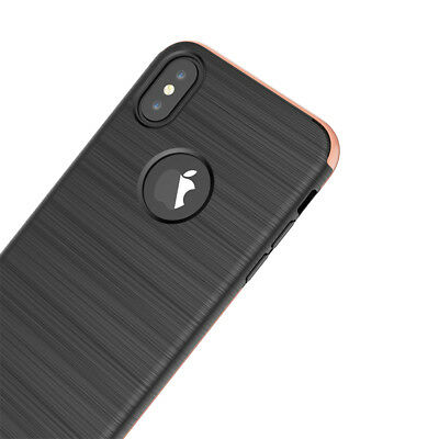 Etui Coque Intégrale 360° Antichocs iPhone 6/6S/Plus/7/8/X + Film Verre trempé