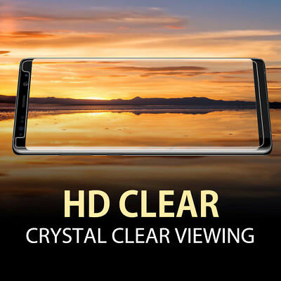 2X For Samsung Galaxy S8 S9 Plus S5 S7  Note 9 8 Tempered Glass Screen Protector 2