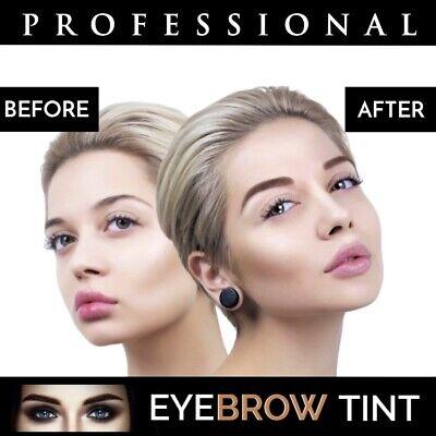 Professional EYEBROW HENNA Brow Eyelash TINT Dye Cream Black Brown Graphite 15ml 8