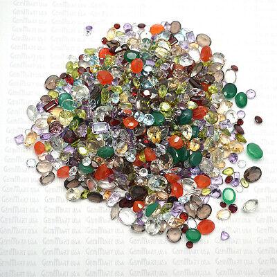 AAA Mixed Gems Semi Precious Loose Natural Gemstones Lots Faceted Cut (MX-60003) 5