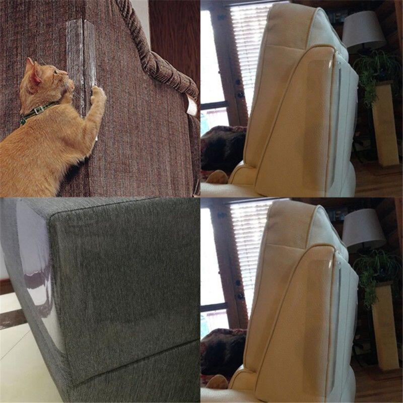 2Pcs Cat Scratch Guard Mat Pet Cat Scratching Post Furniture Sofa Seat Protector 7