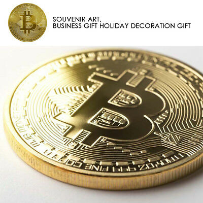 Best buy BITCOIN Gold Plated Physical Commemorative Collector Gift Issue Coin 2