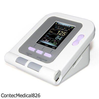 Veterinary Digital Blood Pressure Monitor VET NIBP SPO2 Monitor usb Software,USA 6