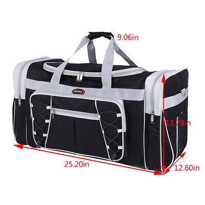 Duffle Bag Sport Gym Carry On Travel Luggage Shoulder Tote HandBag Waterproof 2