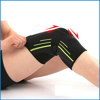 2X Knee Compression Sleeve for Arthritis Joint Pain Relief Workout Sport Braces 3