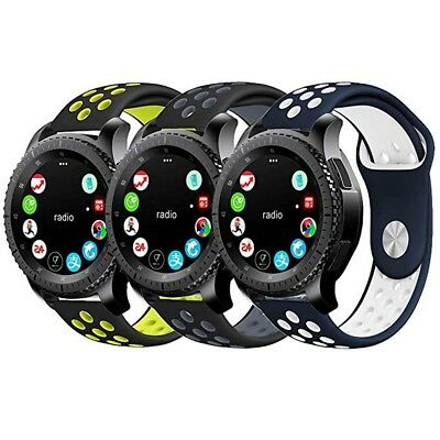 For Garmin vivoactive3 vivomove HR 20MM Silicone Replacement Watch Strap Band 9