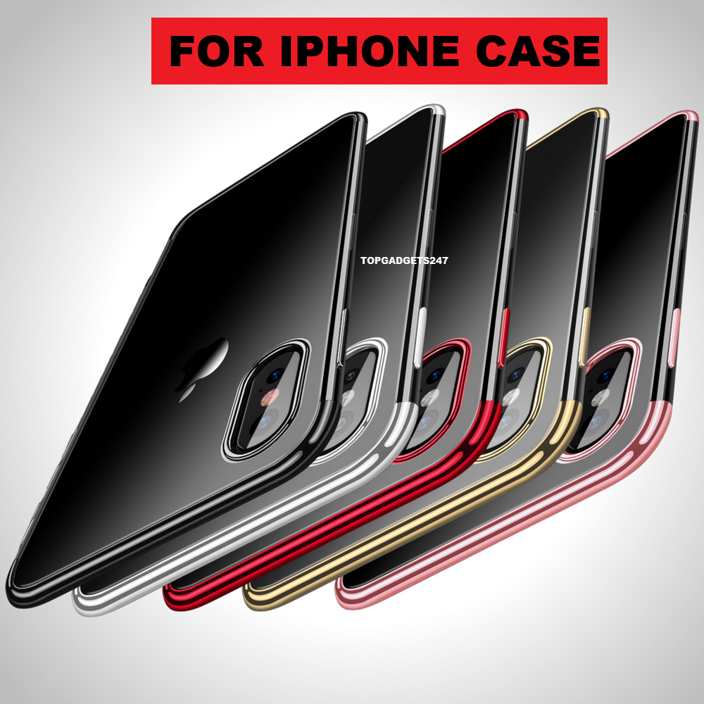 Case for iPhone 11 Pro Max ShockProof Soft Phone TPU Silicone Protective Cover 9