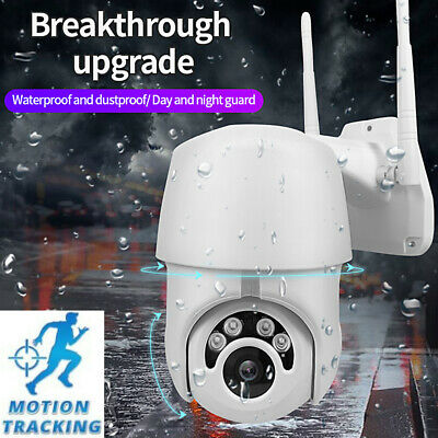 1080P HD IP66 CCTV Camera Waterproof Outdoor WiFi PTZ Security Wireless IR Cam 3