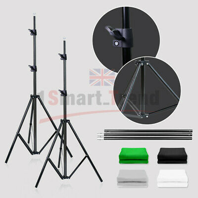 Black/White/Green/Gray Photo Backdrop Screen Background Crossbar Support Stand 4