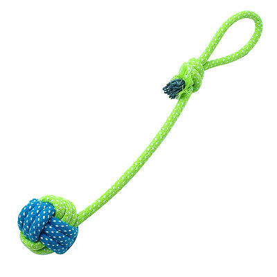 Braided Cotton Rope Pet Dog Interactive Toys for Dogs Chews Bite Training Play 10