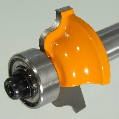 Profilfräser HM Schaft 8 mm (zweischneidig) R 3,17 mm D 25,7 mm