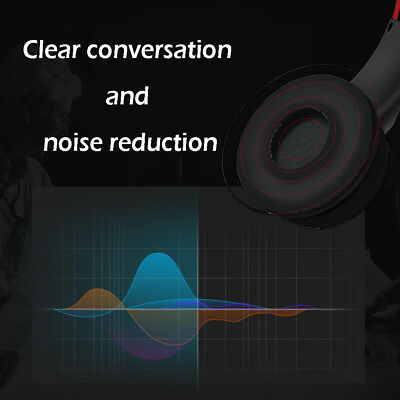 Bluetooth Wireless Headphones Over Ear Headset Noise Cancelling With Microphone 6