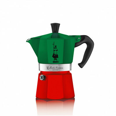 BIALETTI | Moka Express Tricolore 3 Tazze | Limited Edition Made in Italy 2