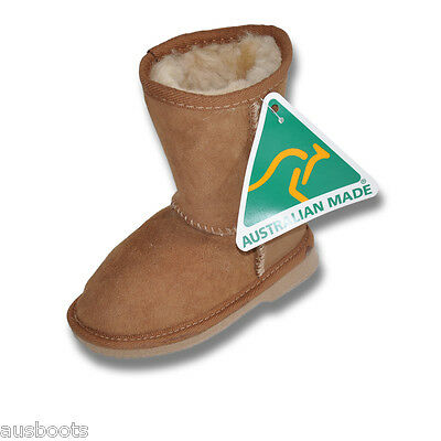 Ugg Boots Australian Premium Merino Sheepskin Short Kids Ugg Boots 3