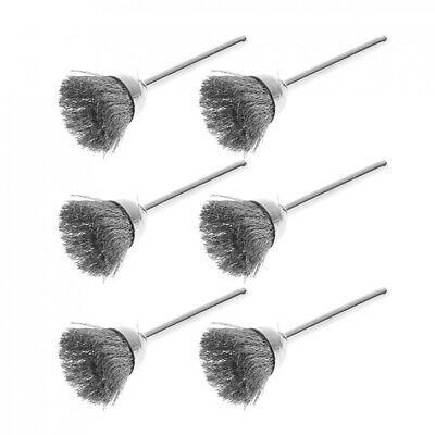 36pcs Wire Steel Brass Brushes Polishing Brush Wheels Set for Dremel Rotary Tool 5