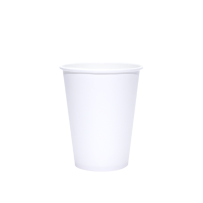 300 Ct. 16 Oz. Eco Friendly White Paper Hot Tea Coffee Cups Disposable No Lids 5