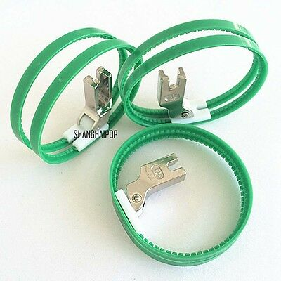 Double Platic Ring Foot #SR-DB-W For Industrial High Shank Sewing Machines