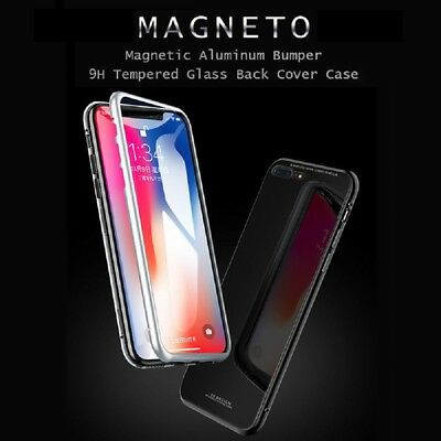 iPhone XS MAX XR Case Metal Luxury Thin Slim Shockproof Cover For Apple Phone 8