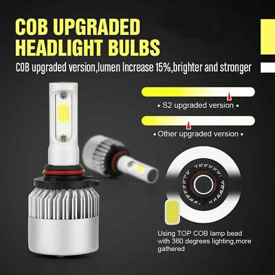 9006 9005 Hi Low Beam COB LED Headlight for Honda Accord 90-2012 Civic 2004-2015 10
