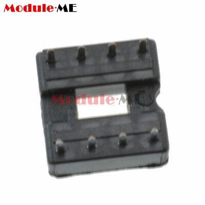50/100PCS 8pin DIP IC Socket Adaptor Solder Type Socket Pitch Dual Wipe UK 4