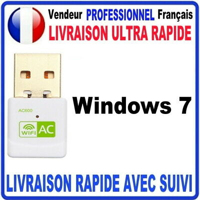 CLE USB WIFI ADAPTATEUR 600 Mbps DONGLE USB DOUBLE BANDE 2