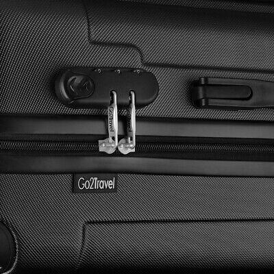 Go2Travel Hartschalenkoffer Reisekoffer Trolley Bordgepäck Kofferset 🧳 11