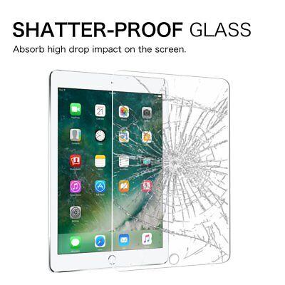 2X Tempered Glass Screen Protector Apple iPad 3 4 5 6 Air 1 2 Mini 1 2 3 4 Pro 8