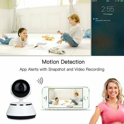 HD Night Vision Wireless WiFi Smart Home Security Camera Video Baby Dog Monitor 2