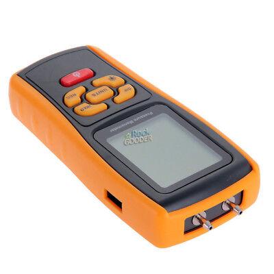 GM510 Handheld Digital Air Pressure Meter Manometer +/- 10kPa Measuring Teste rg 5