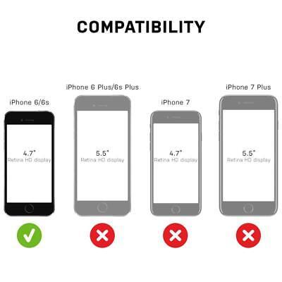 "iPhone 6 iPhone 6s 4.7"" Defender Shockproof Hard Shell Case w/Holster Belt Clip 2"