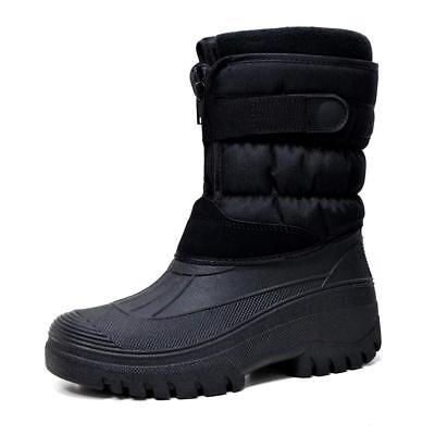 Mens Ladies Snow Boots Winter Waterproof Mucker Thermal Wellingtons Fur Boots 3