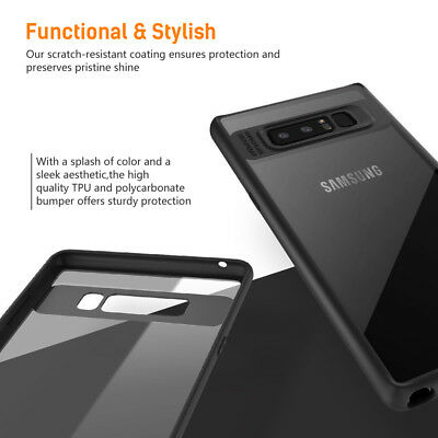 Samsung Galaxy S9 Slim Case S8 Plus Note 9 8 Luxury Shockproof Clear Back Cover 6