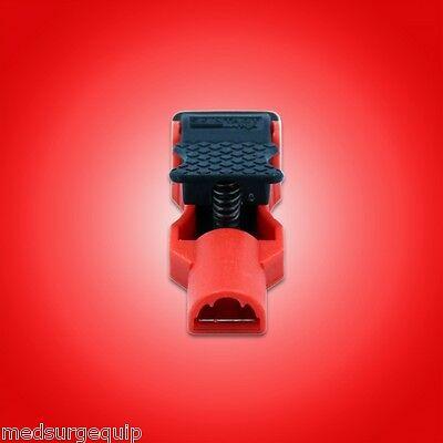 Skintact EKG \ ECG Alligator Clips for 4mm Banana and 3mm Needle - Easiclips 2