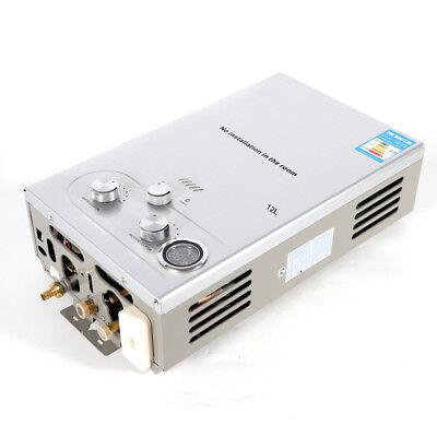 12L Durchlauferhitzer Warmwasserbereiter Boiler Natural Gas WarmwasserspeicherDE 4