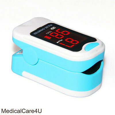 Finger Pulse Oximeter Blood Oxygen Saturation SPO2 Heart Rate O2 Patient Monitor 6