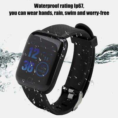 116Plus Smart Watch Bluetooth Heart Rate Blood Pressure Monitor Fitness Tracker 4