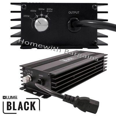 600w LUMii BLACK Electronic Digital Dimmable Ballast 250w 400w 660w Super Lumen 2