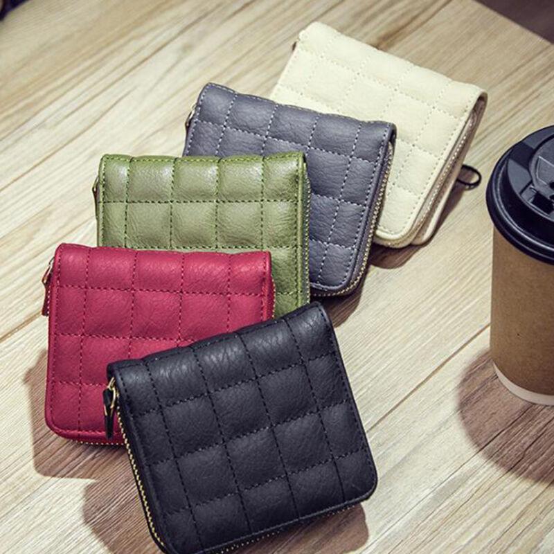 Fashion Leather Bifold Wallet Zipper Clutch Card Holder Purse Handbag Lady ^ 3