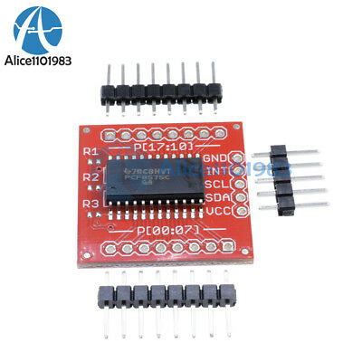 PCF8575 IIC I2C I/O Extension Shield Module 16 bit SMBus I/O ports For Arduino 4
