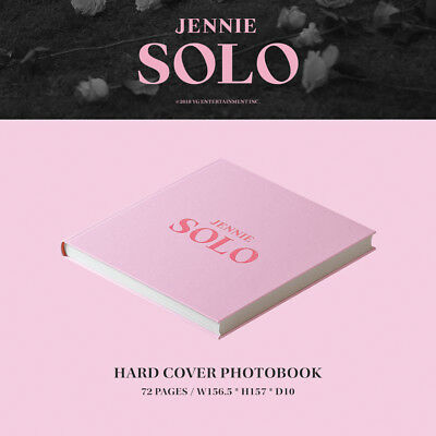 BLACKPINK JENNIE [SOLO] PHOTOBOOK CD+POSTER+Photo Book+Post Card+Card SEALED 4
