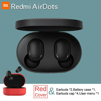 Bluetooth 5.0 Xiaomi Redmi AirDots Wireless TWS Earphone Active Earbuds Headset 3
