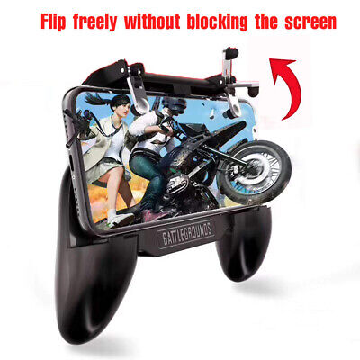 Mobile Phone Game Controller Joystick Cooling Fan Gamepad for PUBG Android IOS 4