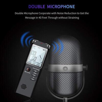 32G Voice Activated Mini Spy Digital Sound Audio Recorder Dictaphone MP3 Player 7