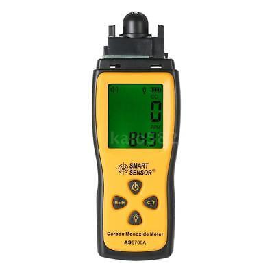 SMART SENSOR Handheld LCD Carbon Monoxide Meter CO Tester Monitor Detector Gauge 10