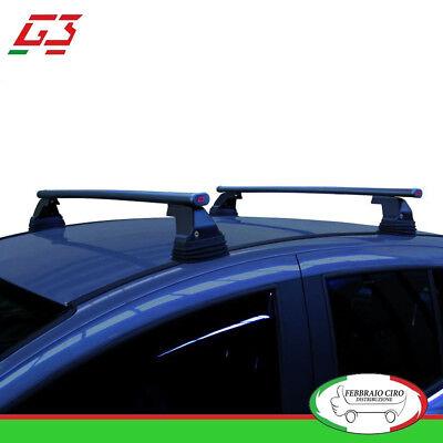 65.130+68.083 G3 Kit Barre Tetto Portatutto Pacific 127cm Volkswagen UP 20012/>