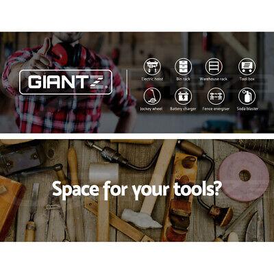 Giantz 0.7M Warehouse Racking Metal Steel Shelving Garage Storage Shelves Racks 2