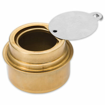 Survival Brass Portable Cooking Camping Alcohol Burner Stove w/ Flame Regulator 2