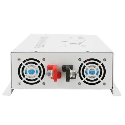 3500Watt Pure Sine Wave Car Power Inverter 12/24V to 120V/220V Remote Control 7