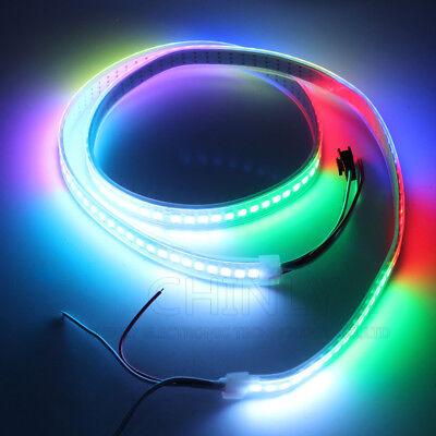 WS2812B Strip LED Lights 5050 RGB 30/60/144 LED/M IC Individual Addressable DC5V 5