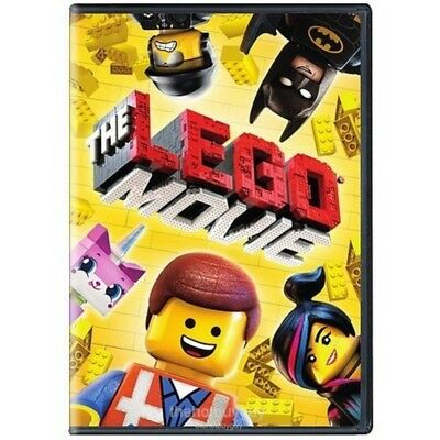 The Lego Movie (DVD, 2014, Widescreen) NEW 2
